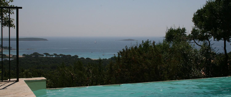 Capu Di Monti : vue sur mer