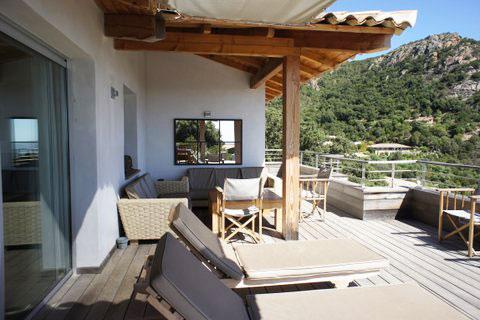 Casucia : aperçu terrasse