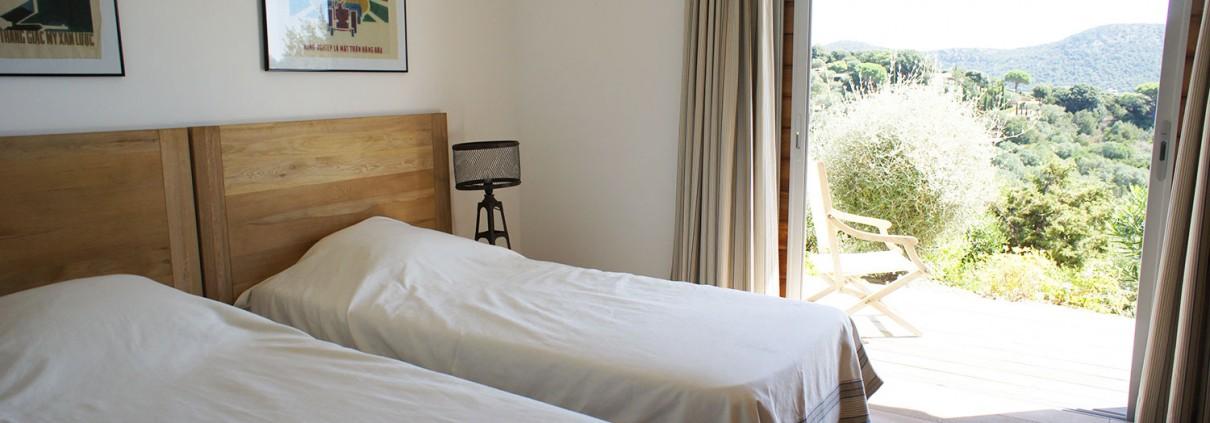 Casucia : chambre avec terrasse