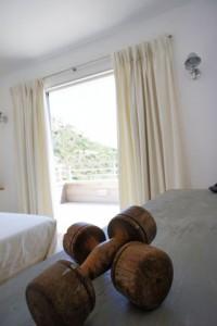 Casucia : détail décoration chambre