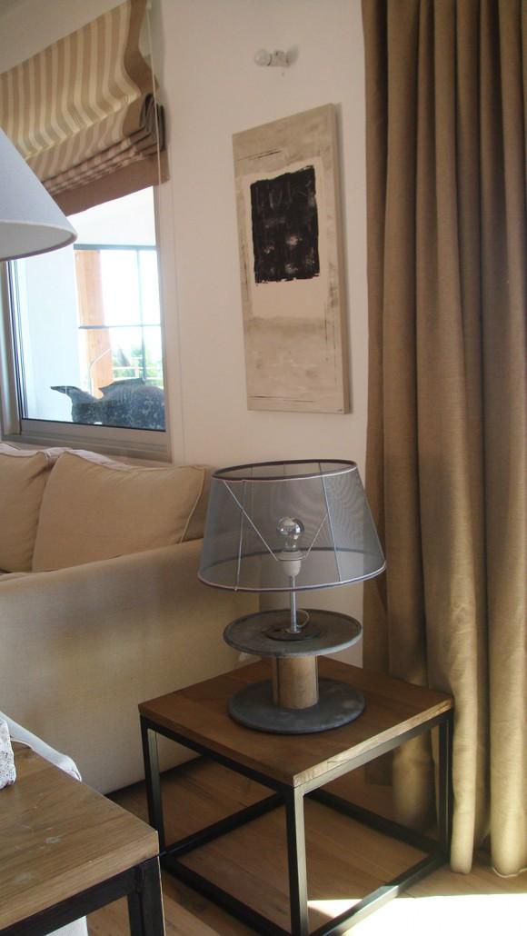 Casucia : détails décoration du salon