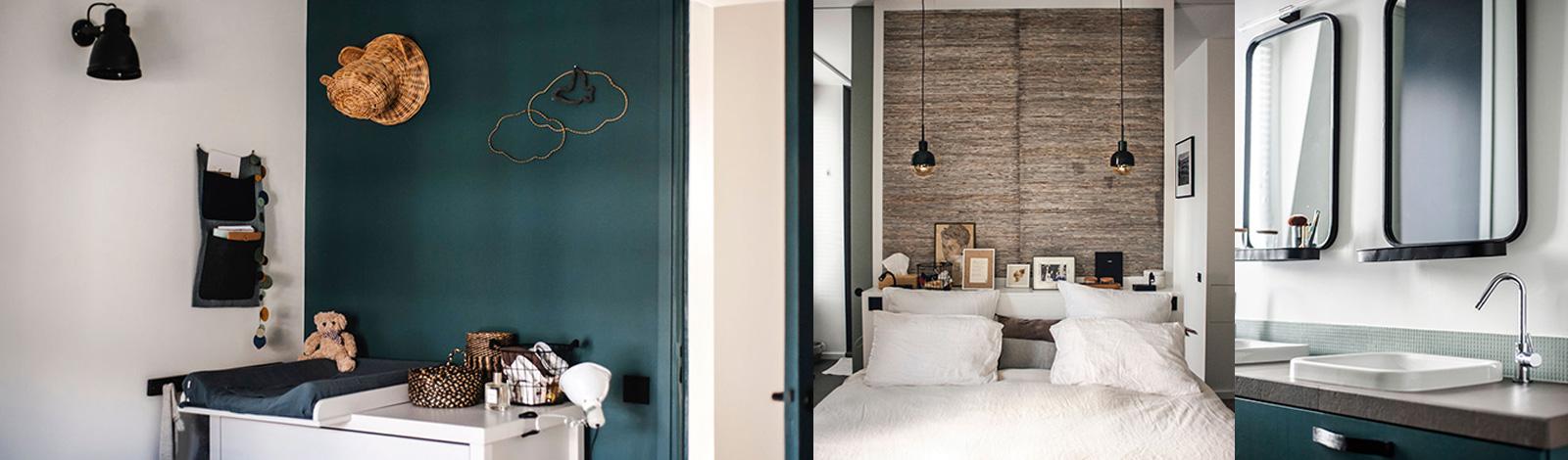 Décoration intérieure : appartement duplex