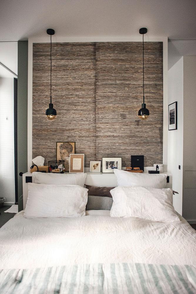 Doumer, Paris 16e : chambre parents, tête de lit