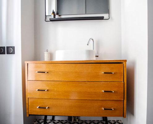 Rue Fays, Saint Mandé : salle de bain