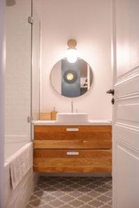 Fillon Paris 17e : salle de bain