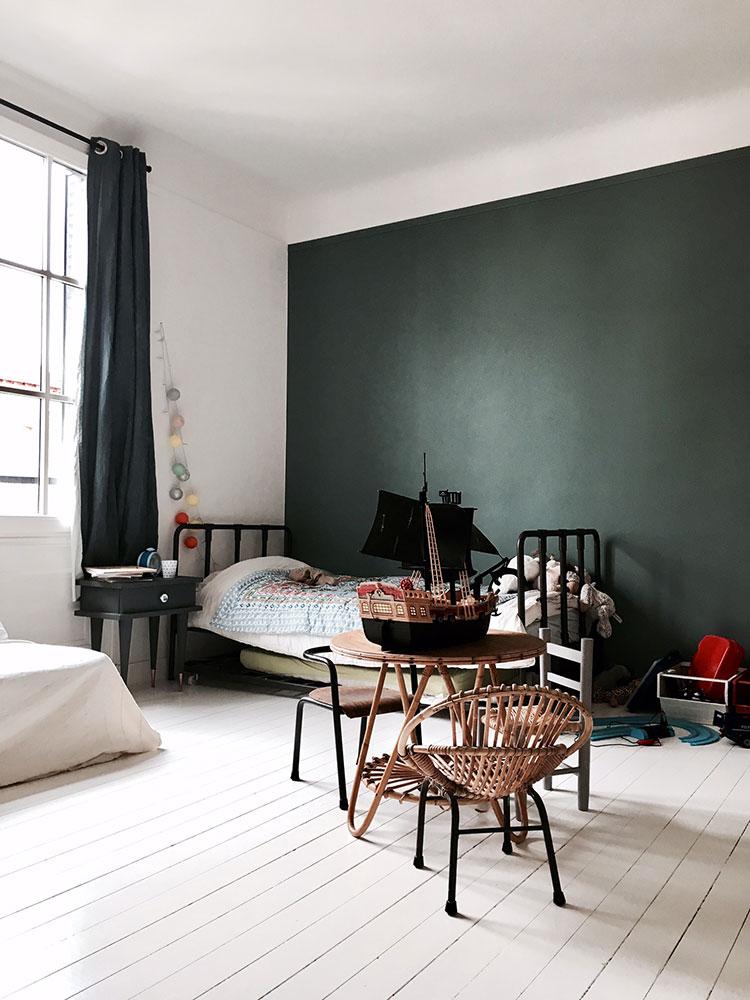 Maison avenue des Vignes, Saint-Cloud : chambre enfant