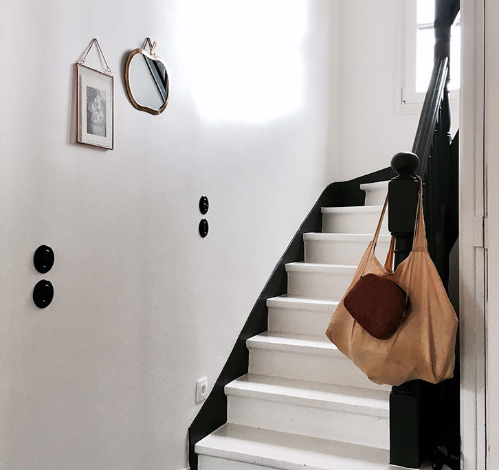Maison avenue des Vignes, Saint-Cloud : escalier
