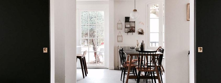 Maison avenue des Vignes, Saint-Cloud : salle à manger