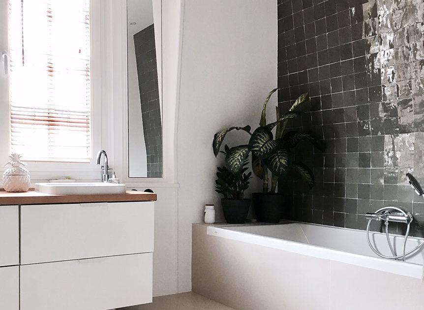 Maison avenue des Vignes, Saint-Cloud : salle de bain