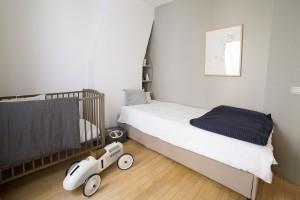 Paris 7e, quartier du Bon Marché : autre aménagement chambre enfant N°2