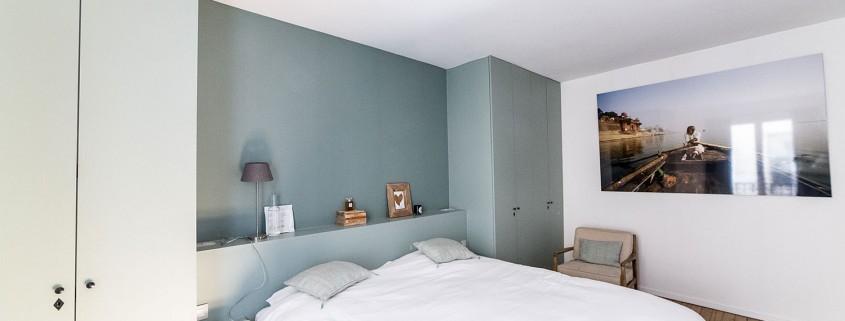 Paris 7e, quartier du Bon Marché : chambre double, vue 1