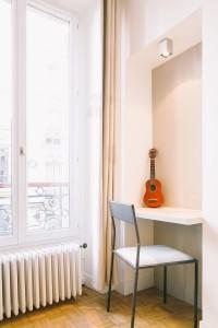 Paris 9e, le coin bureau