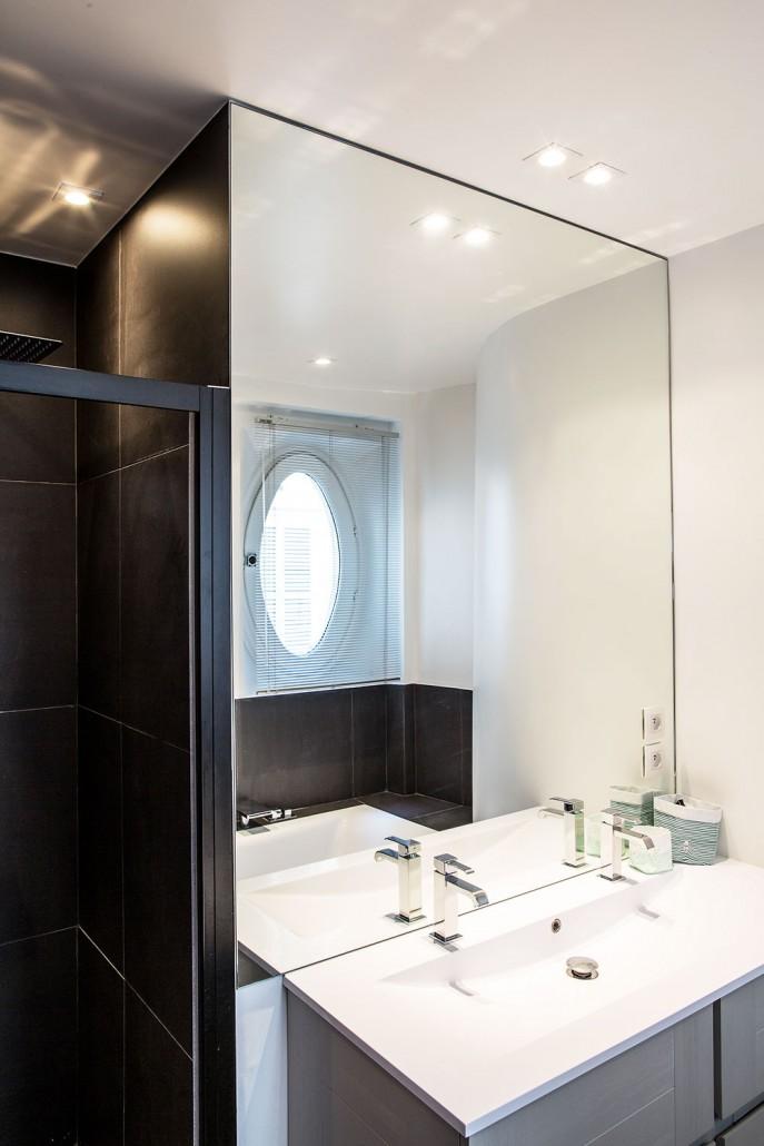Paris 9e, la salle de bain